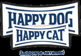Корм для кошек и собак Happy Dog и Happy Cat
